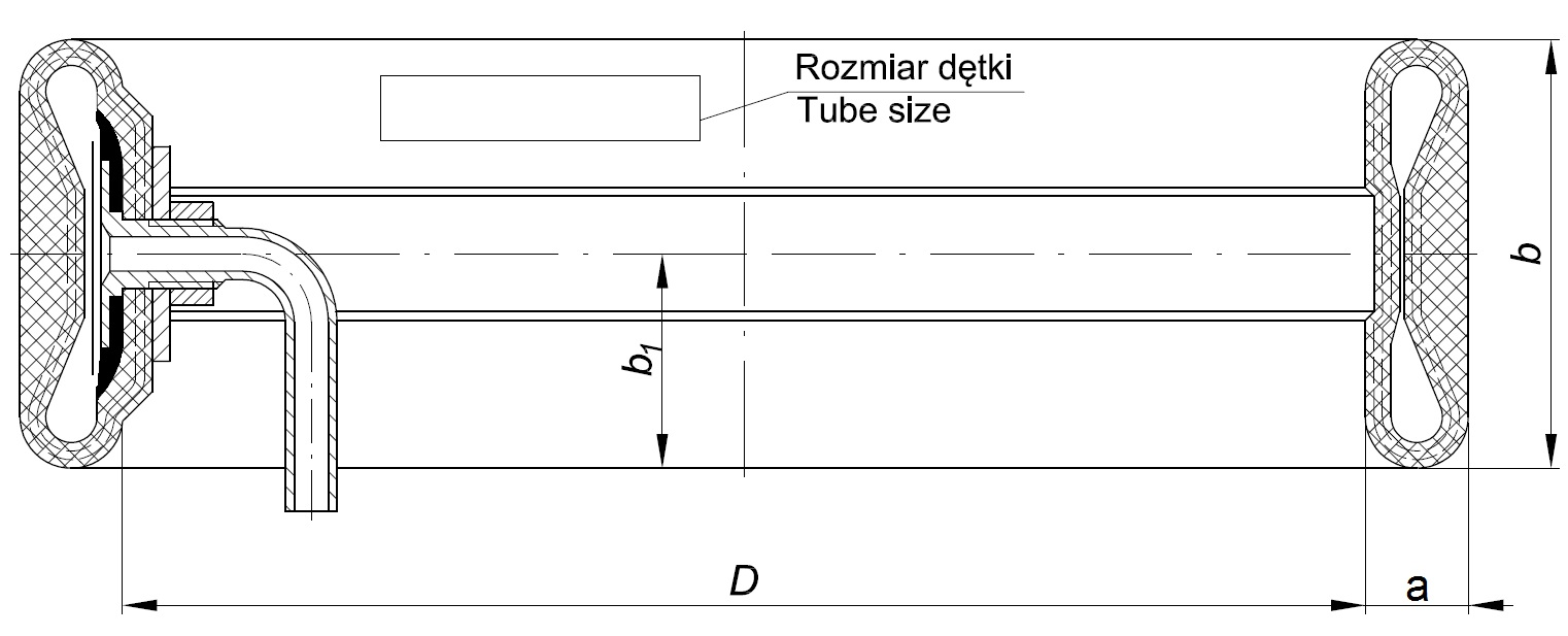 Brake tube